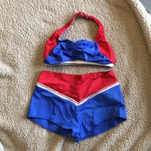 The Line Up 2 Piece Cheerleading Set